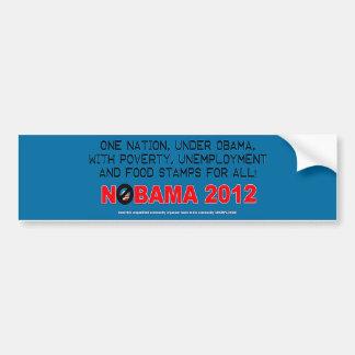 Anti etiqueta de Obama Adesivo Para Carro