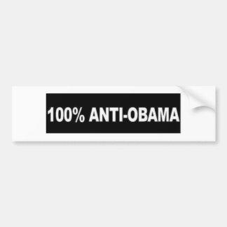 Anti-Obama 100% Adesivo Para Carro