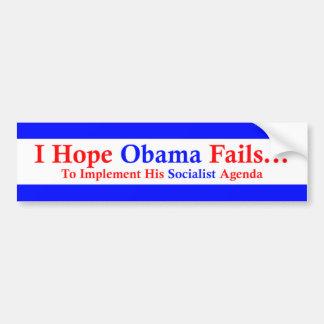 Anti-Obama 1 Adesivo Para Carro