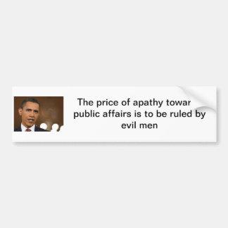 anti-obama adesivo para carro