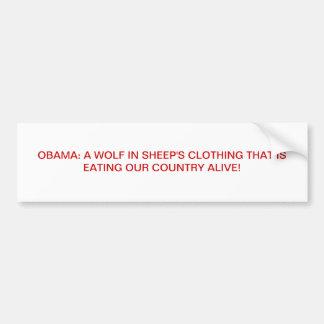 Anti Obama Adesivo Para Carro