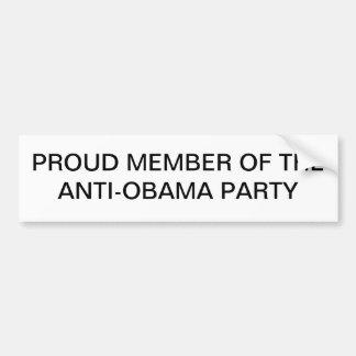 Anti-Obama Adesivos