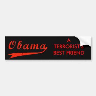 Anti Obama - autocolante no vidro traseiro do melh Adesivo Para Carro