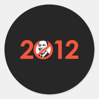 Anti-Obama Bumpersticker - 2012 Adesivos