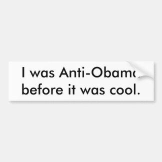 Anti-Obama Bumpersticker Adesivo