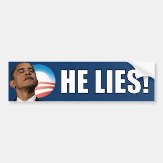 Anti Obama: Encontra-se! Adesivo Para Carro