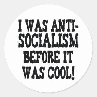 Anti-Obama engraçado Adesivos Em Formato Redondos