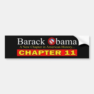 Anti-Obama - falência nova do capítulo… Adesivo