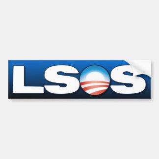Anti Obama - LSOS Adesivo Para Carro