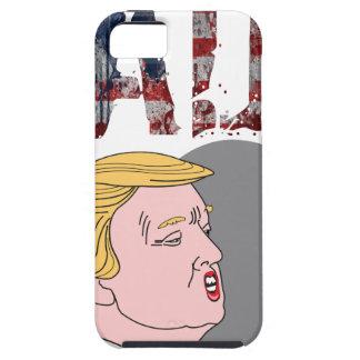 Anti presidente sarcástico engraçado Donald Trump Capa Tough Para iPhone 5