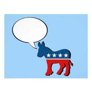 Anti republicano - quem você lixo do reboque do ca panfleto
