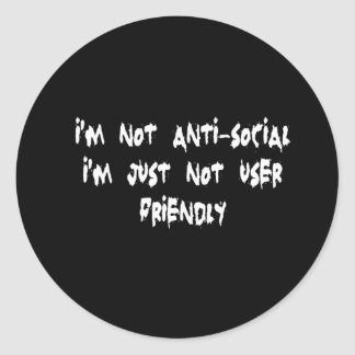 Anti-social Adesivo