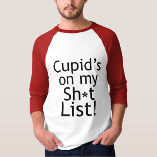 Anti t-shirt dos Anti-Namorados do Cupido Camiseta