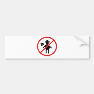 Anti teabagger adesivo para carro
