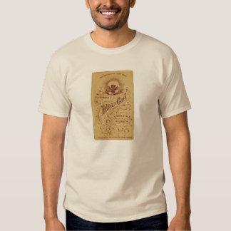 Antiga propaganda t-shirts