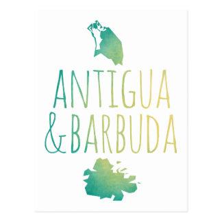 Antígua & Barbuda Cartão Postal