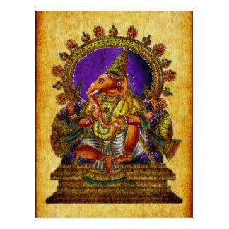 Antiguidade de Ganesha Deva Cartão Postal
