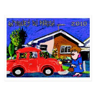 Antiguidade Du Paróquia 2010 Cartão Postal