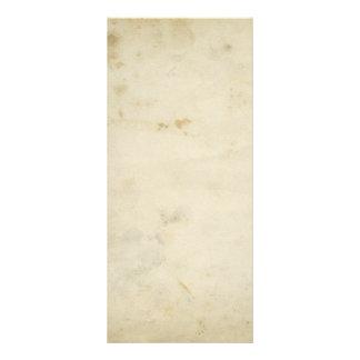 Antiguidade vazia cartão feito sob encomenda de