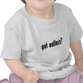 antlers obtidos camisetas