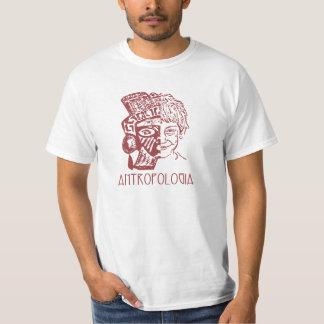 Antropologia (Masculina/frente) Camiseta