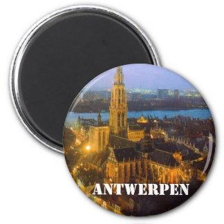 Antwerpen Ímã Redondo 5.08cm