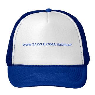 Anuncie, chapéu customizável boné