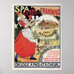 Anúncio 1894 de Frahinfaz do restaurante de Poster