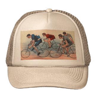 Anúncio 1896 de Lithos da bicicleta Boné