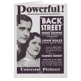 Anúncio 1932 do filme de Irene Dunne da rua