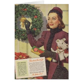 Anúncio 1937 do Natal de Joana Crawford