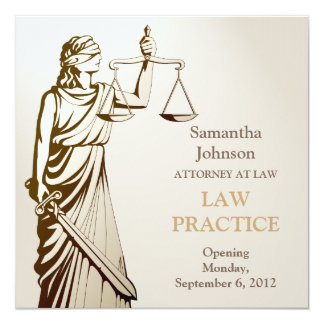 Anúncio da abertura da prática de direito de