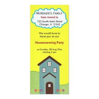 Anúncio da casa aberta convite personalizado