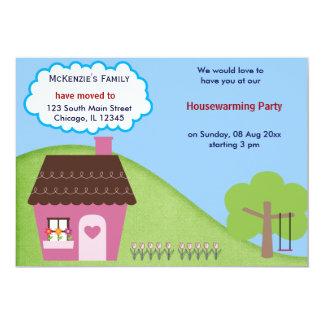 Anúncio da casa aberta convite