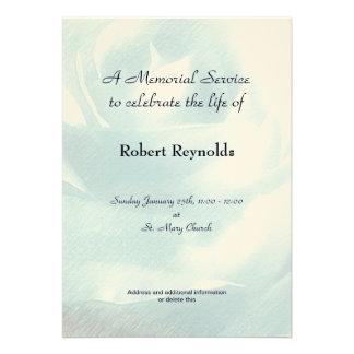 Anúncio da cerimonia comemorativa convites personalizados