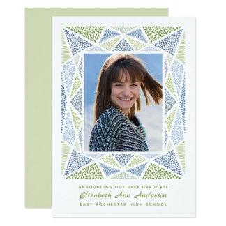 Anúncio da foto da graduação de Esprit azul &