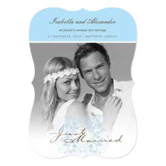 Anúncio da foto do casamento do Flourish do recem