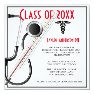 Anúncio da graduação da escola de cuidados do