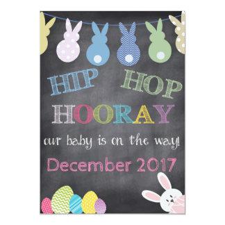 Anúncio da gravidez da páscoa de Hip Hop Hooray