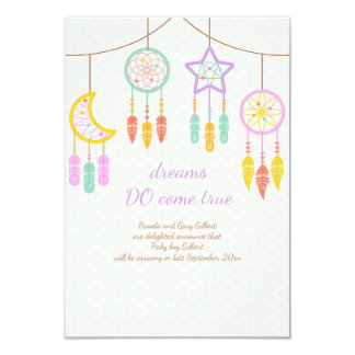 Anúncio da gravidez de Dreamcatcher do bebê
