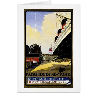 Anúncio das viagens vintage do Cie Gie
