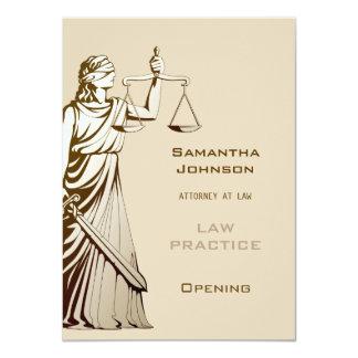 Anúncio de abertura da prática de direito | de