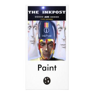 Anúncio de InkPost - pinte o marcador Cartao Com Fotos