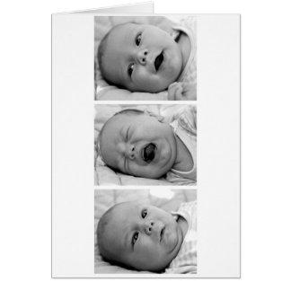 Anúncio do bebê da Tri Foto