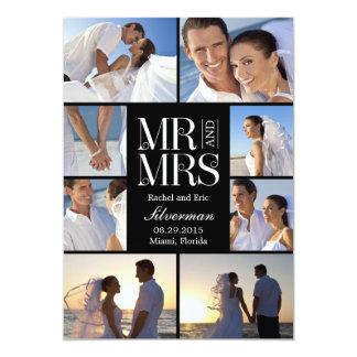Anúncio do casamento do montagem do casamento - convites personalizados