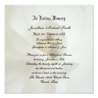 Anúncio do convite da cerimonia comemorativa convite quadrado 13.35 x 13.35cm