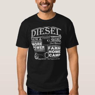 Anúncio do diesel do Handbill T-shirt