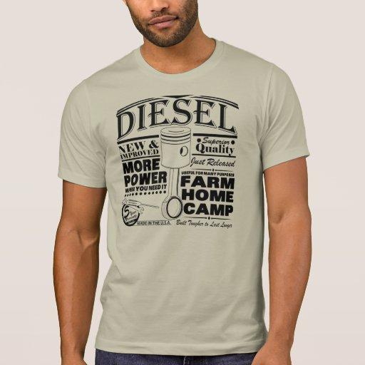Anúncio do diesel do Handbill Tshirt