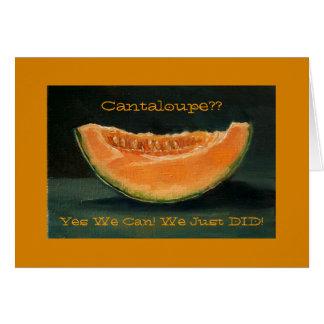Anúncio do Elopement: Cantaloupe, chalaça,