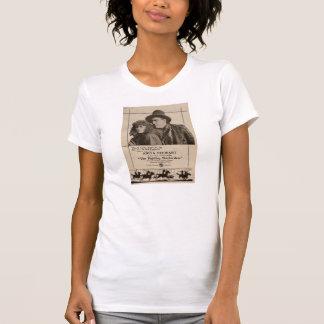Anúncio do expositor do filme silencioso de Anita Camiseta